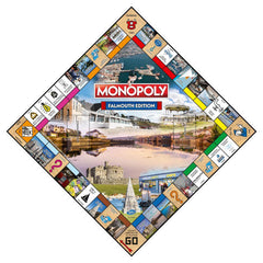 Falmouth Monopoly Board Game - Winning Moves UK