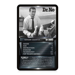 James Bond Gadgets & Vehicles Top Trumps Card Game