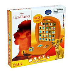 Lion King Top Trumps Match Cube Game