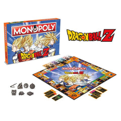 Dragon Ball Z Monopoly - Winning Moves UK