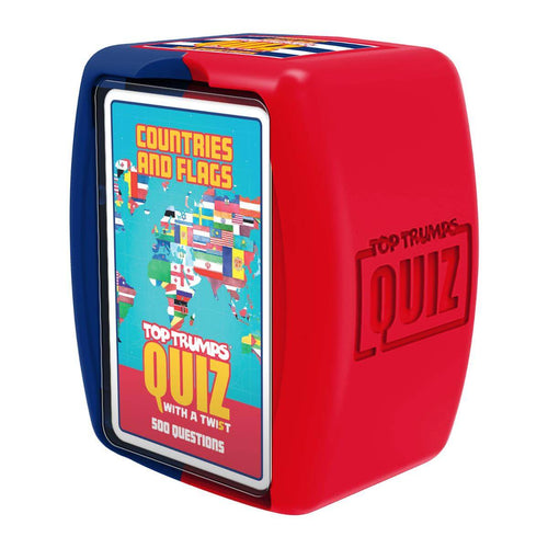 Countries and Flags Top Trumps Quiz