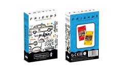 Friends Waddingtons Number 1 Playing Cards - Winning Moves UK