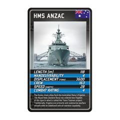 Battleships Top Trumps - Winning Moves UK