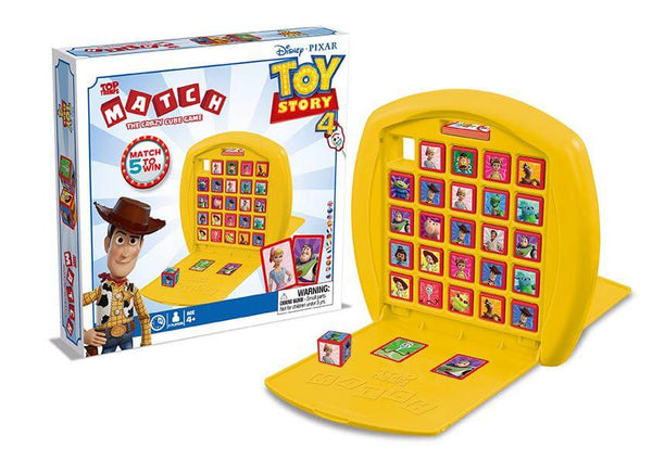 Toy Story 4 Top Trumps Match Board Game - Winning Moves UK