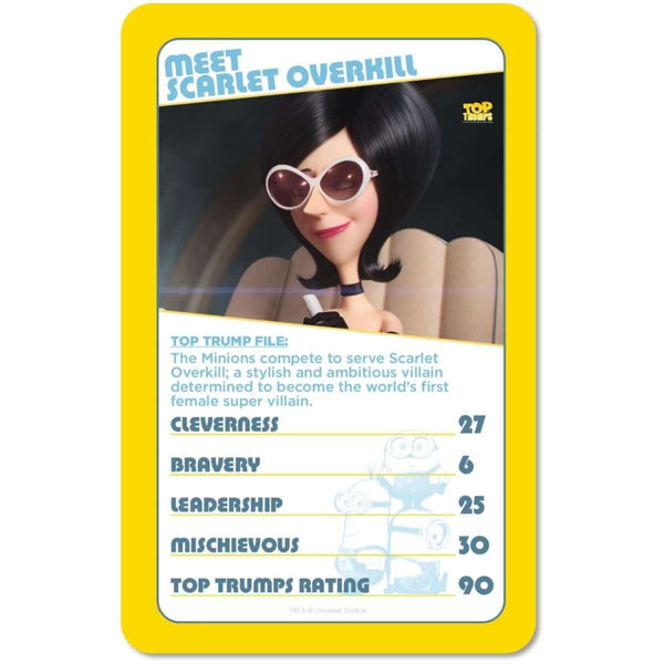 Minions Top Trumps Collectors Tin - Winning Moves UK