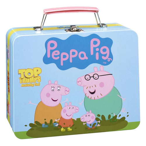 Peppa Pig Top Trumps Activity Tin