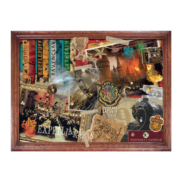 Harry Potter Hogwarts Collectors 1000 Piece Jigsaw Puzzle