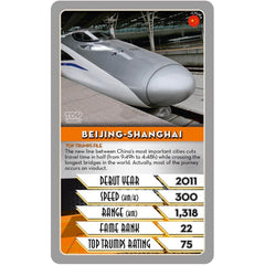 Trains Top Trumps - Winning Moves UK