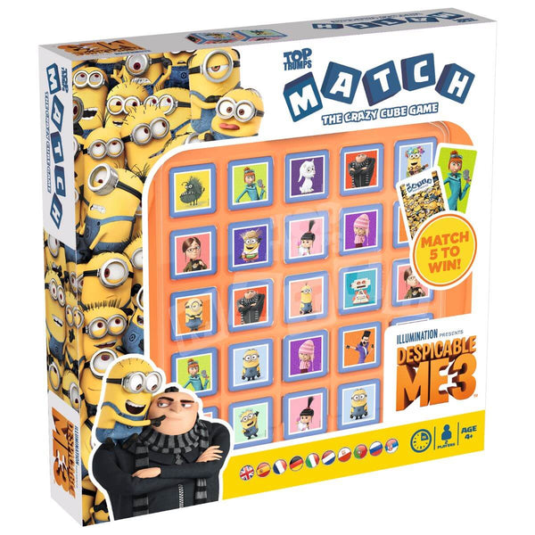 Despicable Me 3 Top Trumps Match - Winning Moves UK