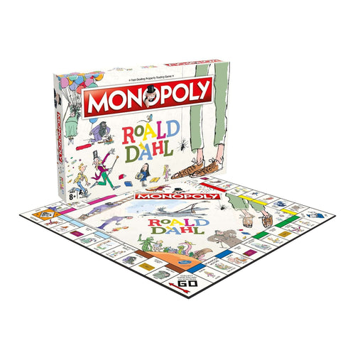 Roald Dahl Monopoly - Winning Moves UK