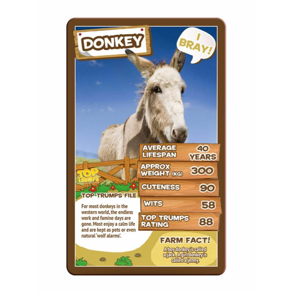 Farm Animals Top Trumps - Winning Moves UK