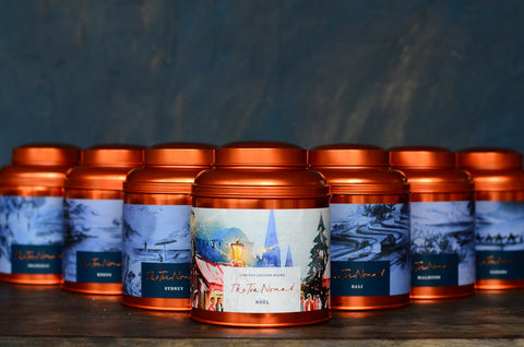 Travel- inspired, luxury tea by The Tea Nomad