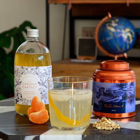 Bali Bliss- The Tea Nomad's ginger tea mocktail
