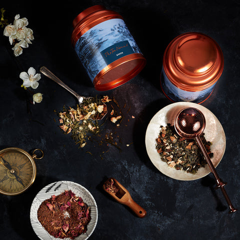 About The Tea Nomad- luxurious, travel inspired teas, handblended to indulge your wanderlust