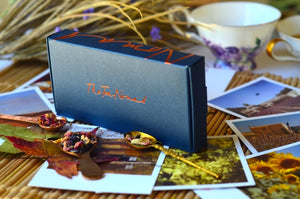 Tea Gift Set- a test tube tea trio of handblended, loose leaf teas by The Tea Nomad'