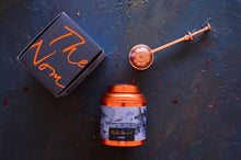 Load image into Gallery viewer, Iced Tea Canister Duo and Tea Infuser gift set- Sydney and Maldives tea canisters and copper tea infuser.