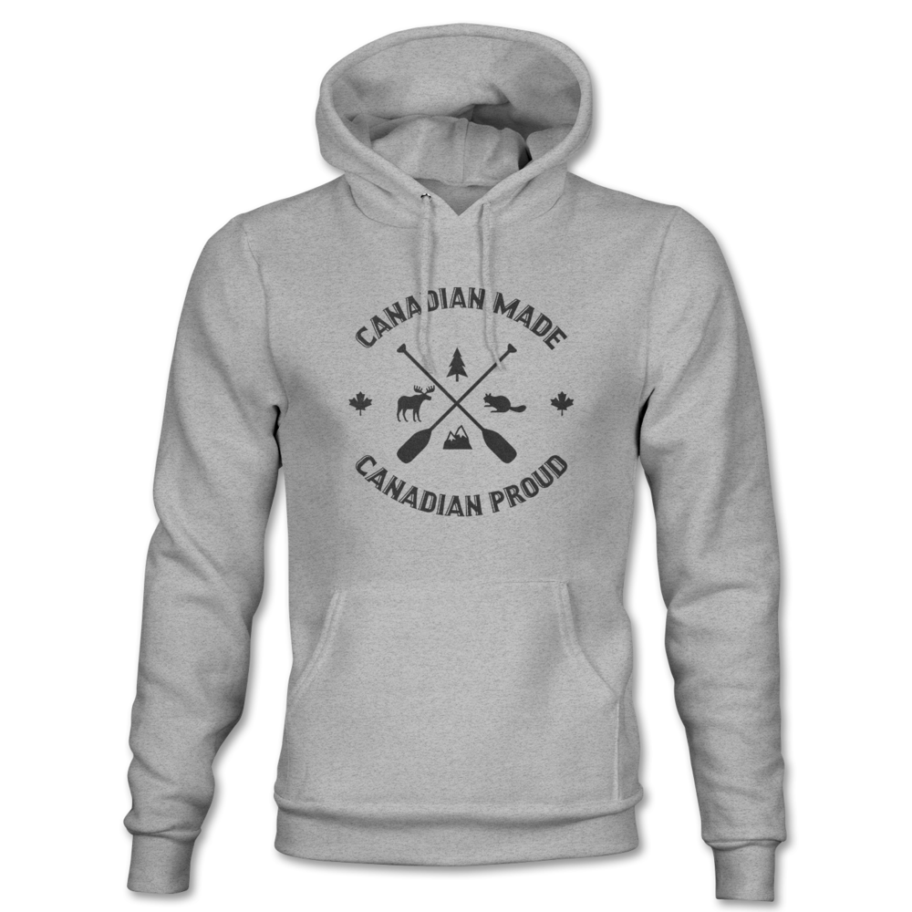 Canadian Made Canadian Proud Hoodie