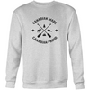 Canadian Made Canadian Proud Crewneck