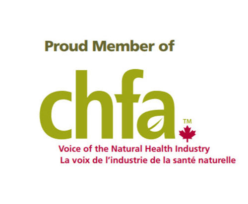 Proud member of CHFA - Canadian Health Food Association