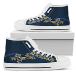 Flower High Top Shoe