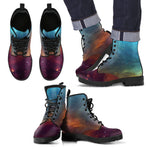 NP Universe theme Men's Leather Boots