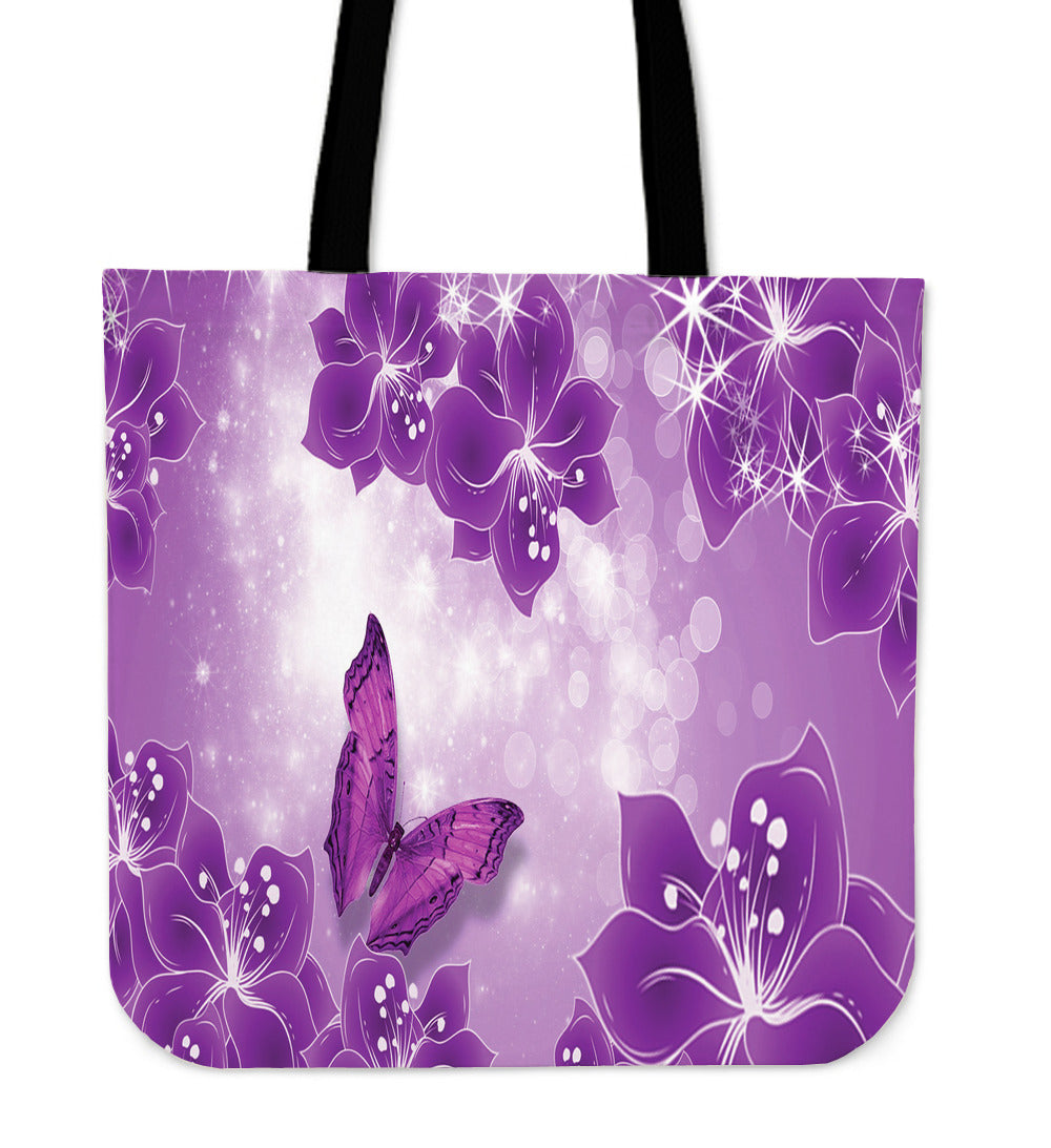 Beautiful Rose Tote Bags