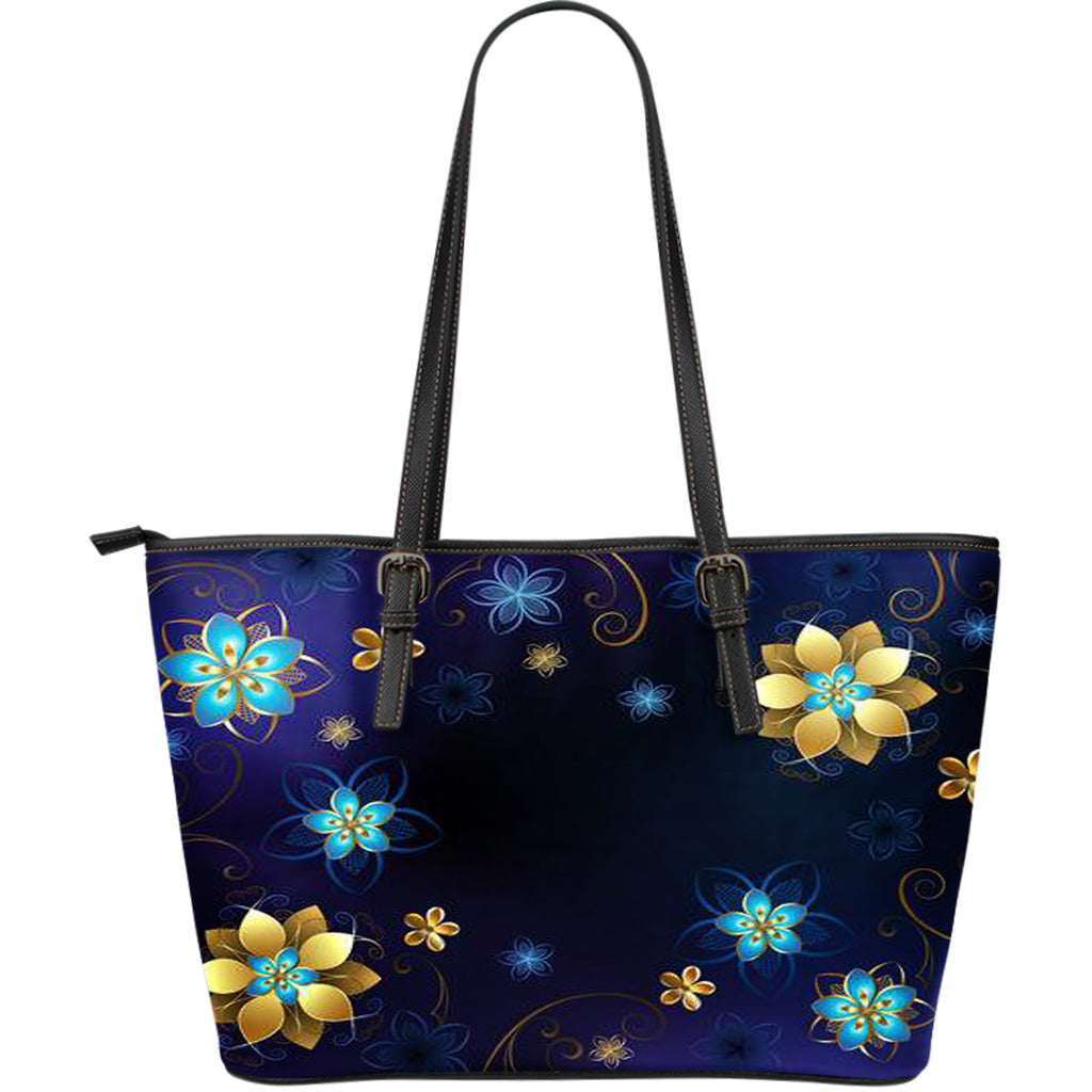 lilyat Large Leather Tote Bag
