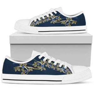 Flower Low Top Shoe