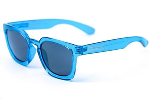 Happy Hour Wolf Pup Glick Crystal Blue Gloss Sunglasses