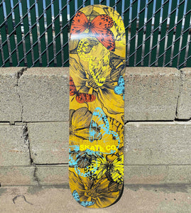 "Long Beach Skate Co. Butterfly Effect 8.38"" Skateboard Deck"