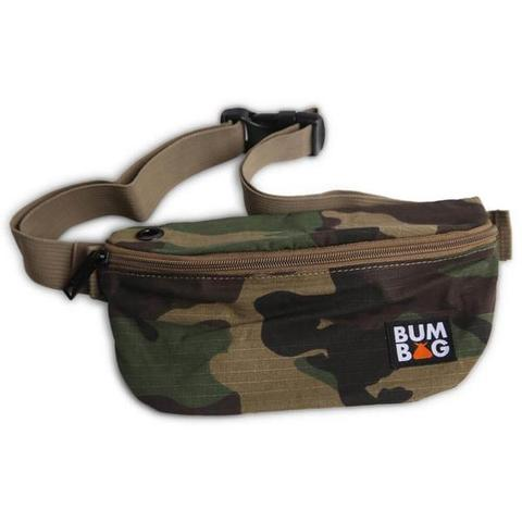 BUMBAG BASELINE POUCH HIP PACK – CAMO BAG