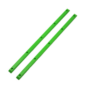 "Psycho Stix 14.5"" (2 Rails W/ Screws) Green Rails"