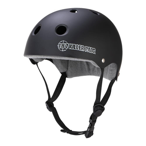 187 PRO SKATE SKATE SWEAT SAVER LINER BLACK MATTE MEDIUM HELMET