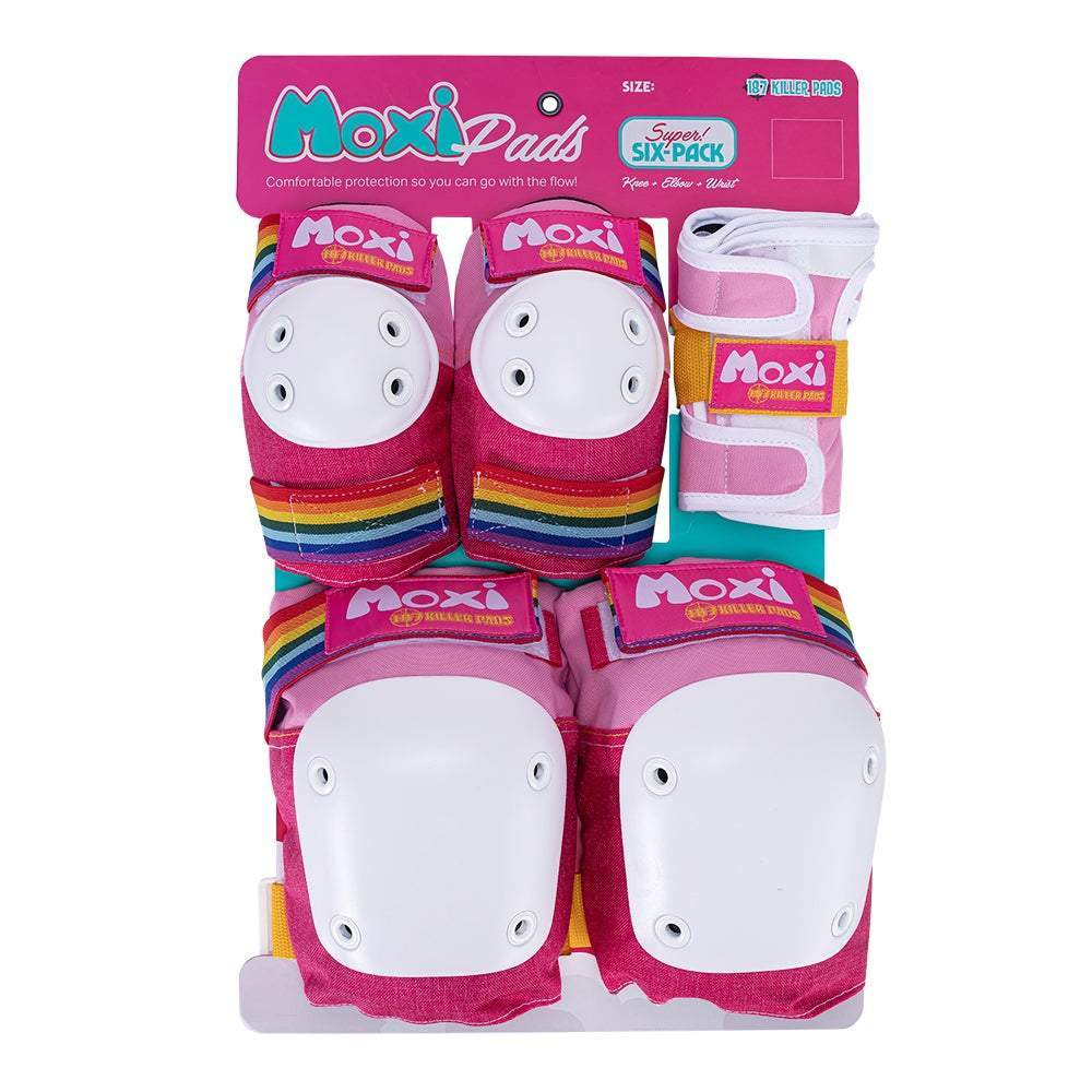 187 SIX PACK JR MOXI PINK PADS