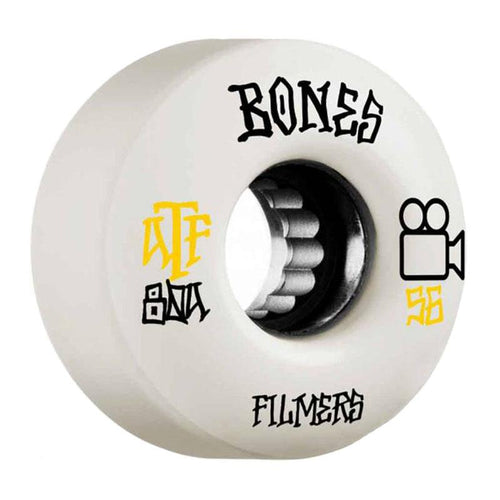 Bones ATF Filmers 80a 56mm White Wheels