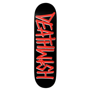 "Deathwish Deathspray Black/Red 8.0"" Deck"