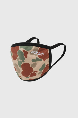 Offiical Duck Camo Beige Face Mask