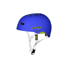 Load image into Gallery viewer, SMITH SCABS ELITE CERTIFIED EPS BLUE YOUTH HELMET