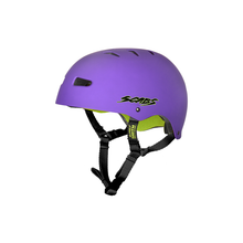 Load image into Gallery viewer, SMITH SCABS ELITE CERTIFIED EPS PURPLE YOUTH HELMET