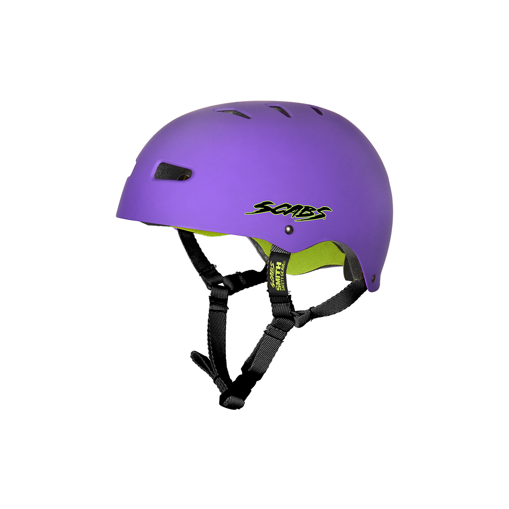 SMITH SCABS ELITE CERTIFIED EPS PURPLE YOUTH HELMET
