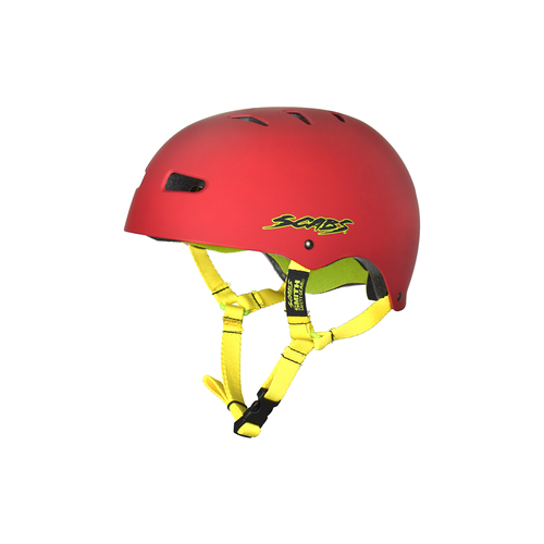 SMITH SCABS ELITE CERTIFIED EPS RED YOUTH HELMET