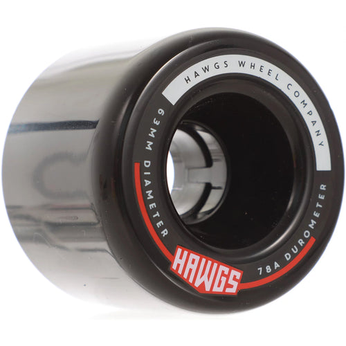 HAWGS Fatty Hawgs Black Glossy 63mm 78a CRUISER WHEELS