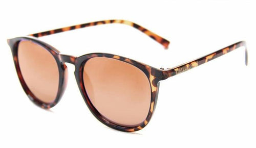 HAPPY HOUR FLAP JACK FROSTED TORTOISE AMBER LENS SUNGLASSES