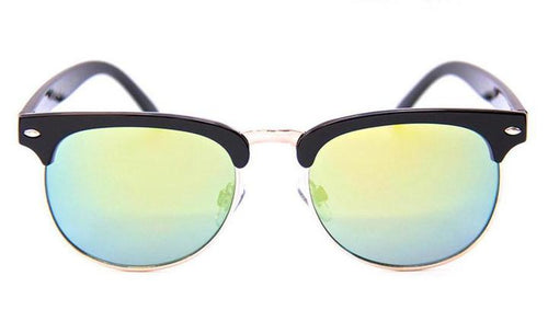HAPPY HOUR G2 GLOSS BLACK GOLD MIRROR SUNGLASSES