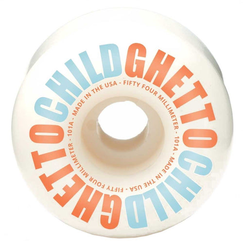 Ghetto Child Classic Logo 54mm Skateboard Wheels