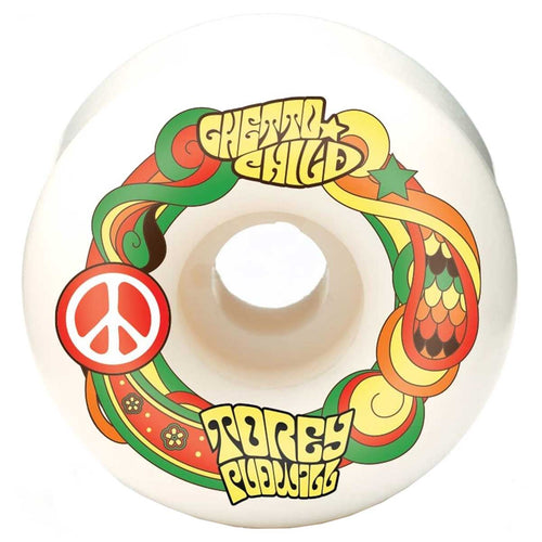 Ghetto Child Peace Pudwill 52mm Skateboard Wheels