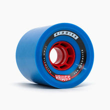Load image into Gallery viewer, Hawgs Biggie Blue 78A 73Mm Cruiser Wheels