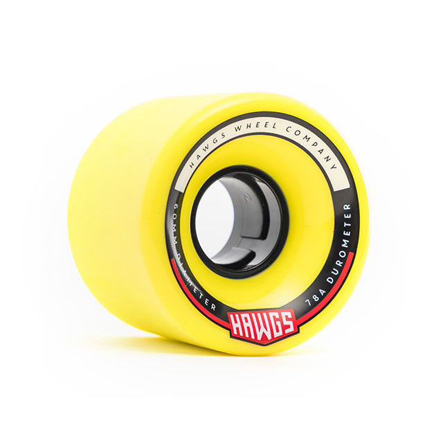 Hawgs Chubby Flat Banana Stone Ground 60Mm 78A Cruiser Wheels
