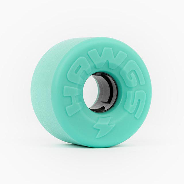 HAWGS Easy Hawgs Ocean Teal Stoneground 63mm 78a CRUISER WHEELS
