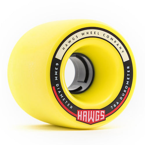 Hawgs Fatty Hawgs Flat Banana Stoneground 63Mm 78A Cruiser Wheels